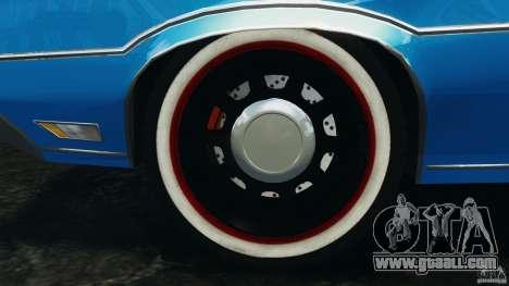 Oldsmobile Vista Cruiser 1972 Police v1.0 [ELS] for GTA 4 interior