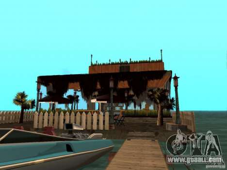 Club on the water for GTA San Andreas