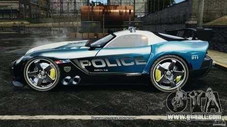 Dodge Viper SRT-10 ACR ELITE POLICE for GTA 4 left view