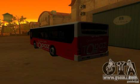 Daewoo Bus BC211MA for GTA San Andreas right view