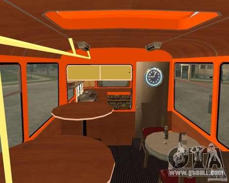 LIAZ-677 (Café moment) for GTA San Andreas left view