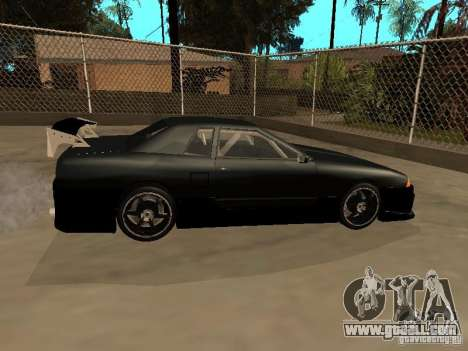 New Tuning Kits for Elegy for GTA San Andreas back left view
