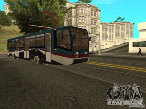 The NEW Tramway for GTA San Andreas third screenshot