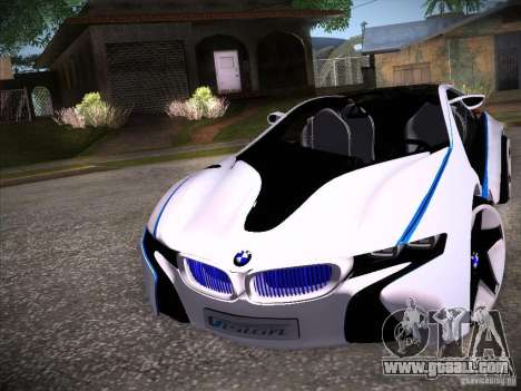 BMW Vision Efficient Dynamics I8 for GTA San Andreas left view