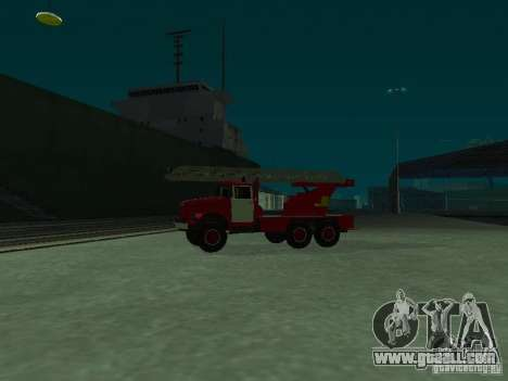 ZIL 131 Al-30 for GTA San Andreas left view