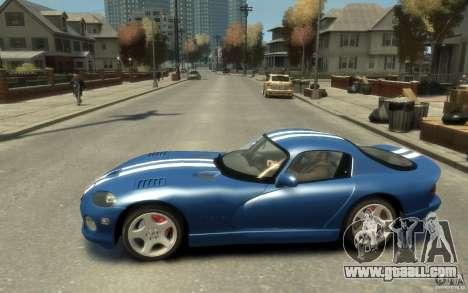 Dodge Viper GTS for GTA 4 left view
