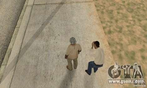 Collision of GTA 4 for GTA San Andreas fifth screenshot