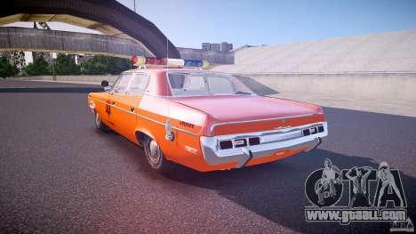 AMC Matador Hazzard County Sheriff [ELS] for GTA 4 back left view