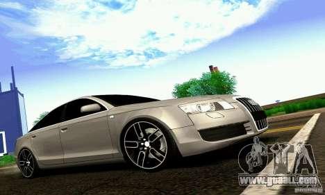 Audi A6 Blackstar for GTA San Andreas