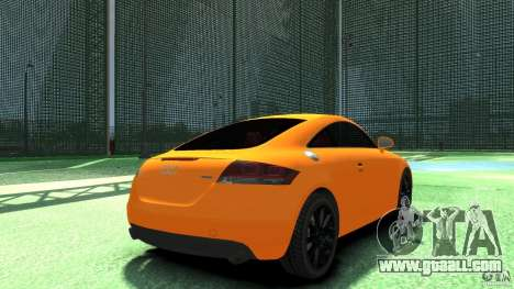Audi TT Stock 2007 for GTA 4 back left view