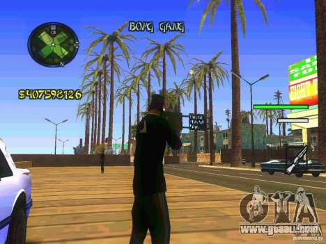 HUD Convenient and easy BETA for GTA San Andreas second screenshot