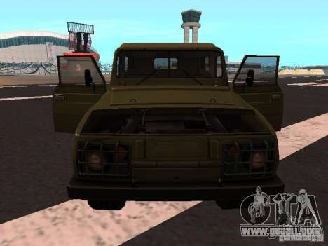 UAZ-3907 Jaguar for GTA San Andreas left view