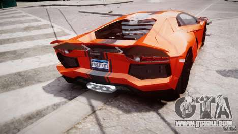 Lamborghini Aventador LP700-4 2011 [EPM] for GTA 4 interior