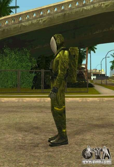 Skins Of S.T.A.L.K.E.R. for GTA San Andreas second screenshot