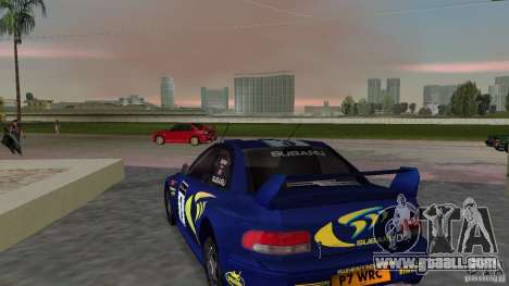 Subaru Impreza 22B Rally Edition for GTA Vice City back left view