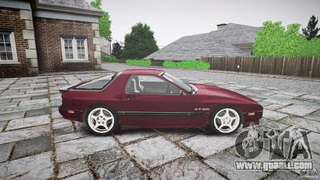 Mazda RX7 FC3S for GTA 4 back view