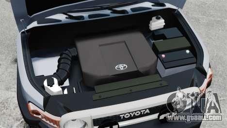Toyota FJ Cruiser for GTA 4 inner view