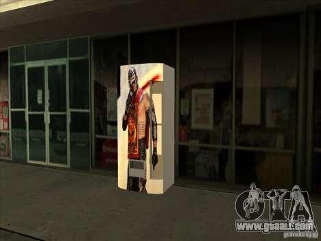 Soda pop Ray Mysterio for GTA San Andreas third screenshot