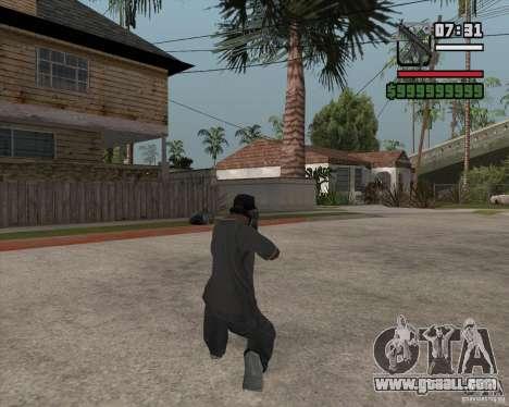 New MP5 (Submachine gun) for GTA San Andreas second screenshot