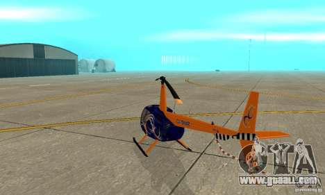 Robinson R44 Raven II NC 1.0 Skin 3 for GTA San Andreas right view