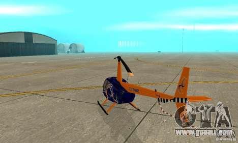 Robinson R44 Raven II NC 1.0 Skin 3 for GTA San Andreas right view