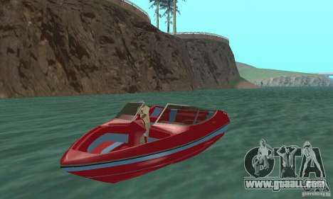 Speedboat for GTA San Andreas