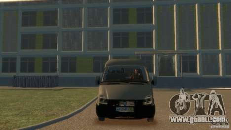 GAZ 2752 Sobol for GTA 4 right view