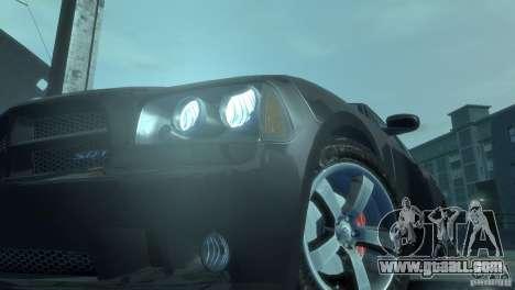 Dodge Charger 2007 SRT8 for GTA 4 inner view
