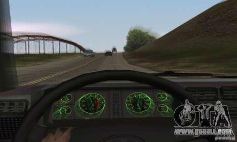 Vaz 2107 Stock v.2 for GTA San Andreas back view