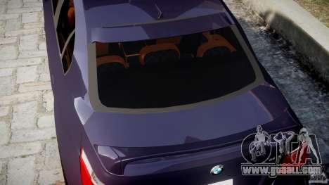 BMW M5 Lumma Tuning [BETA] for GTA 4 bottom view