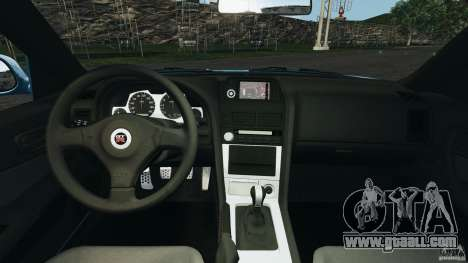 Nissan Skyline GT-R R34 2002 v1.0 for GTA 4 back view