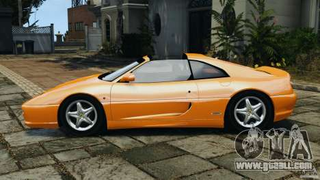 Ferrari F355 F1 Berlinetta for GTA 4 left view