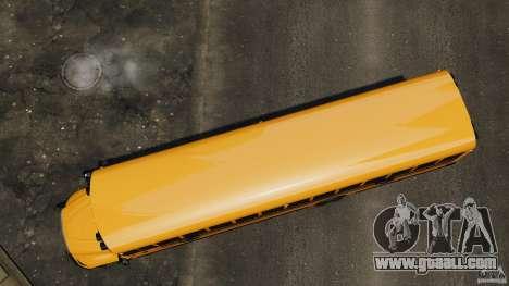 School Bus v1.5 for GTA 4 right view