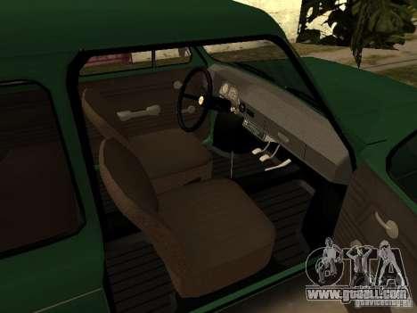 ZAZ 968 m v2 for GTA San Andreas right view
