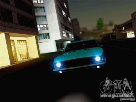 New Car Lights Effect for GTA San Andreas forth screenshot
