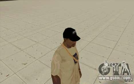 Boss black cap for GTA San Andreas second screenshot