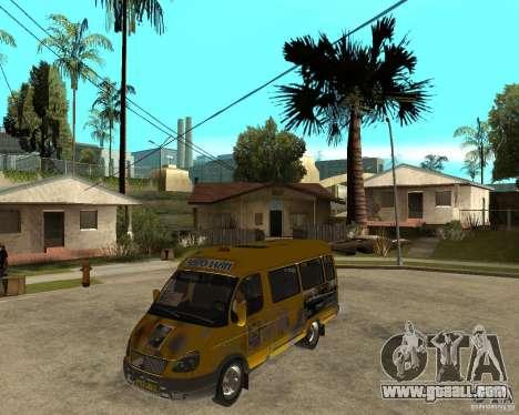 Gaz Gazelle 2705 Minibus for GTA San Andreas