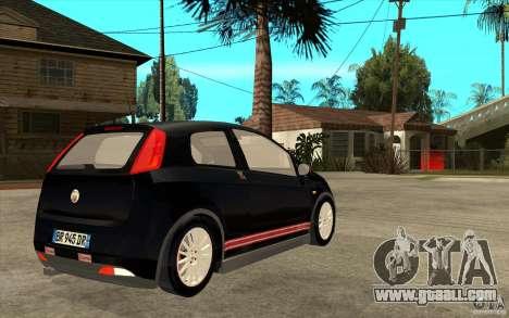 Fiat Grande Punto 3.0 Abarth for GTA San Andreas right view