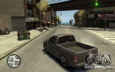Dodge Ram SRT10 for GTA 4 back left view