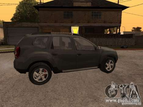 Dacia Duster for GTA San Andreas side view