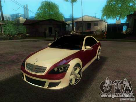 Mercedes-Benz S600 AMG WCC Edition for GTA San Andreas right view