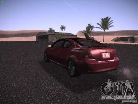 Scion tC for GTA San Andreas right view