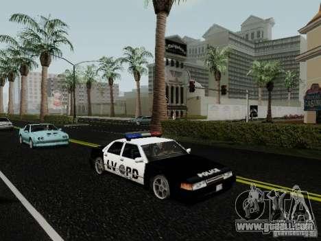 Sunrise Police LV for GTA San Andreas