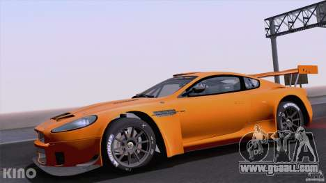 Aston Martin Racing DBRS9 GT3 for GTA San Andreas back view