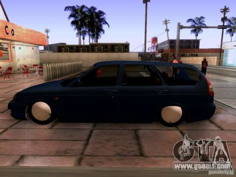 Lada Priora Sedan for GTA San Andreas right view