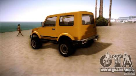 Suzuki Samurai for GTA San Andreas right view