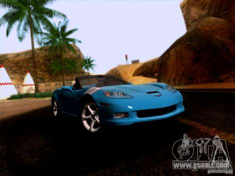 Chevrolet Corvette C6 Convertible 2010 for GTA San Andreas