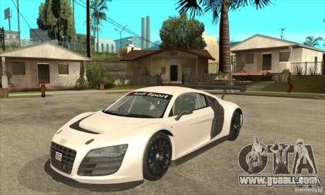 Audi R8 LMS v1 for GTA San Andreas