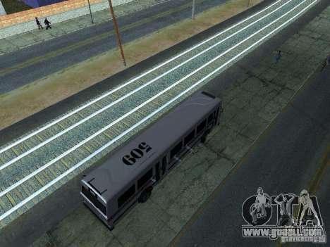 Prison Bus for GTA San Andreas right view