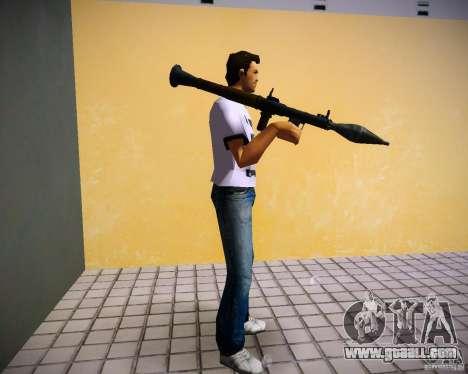 Pak weapons of GTA4 for GTA Vice City ninth screenshot